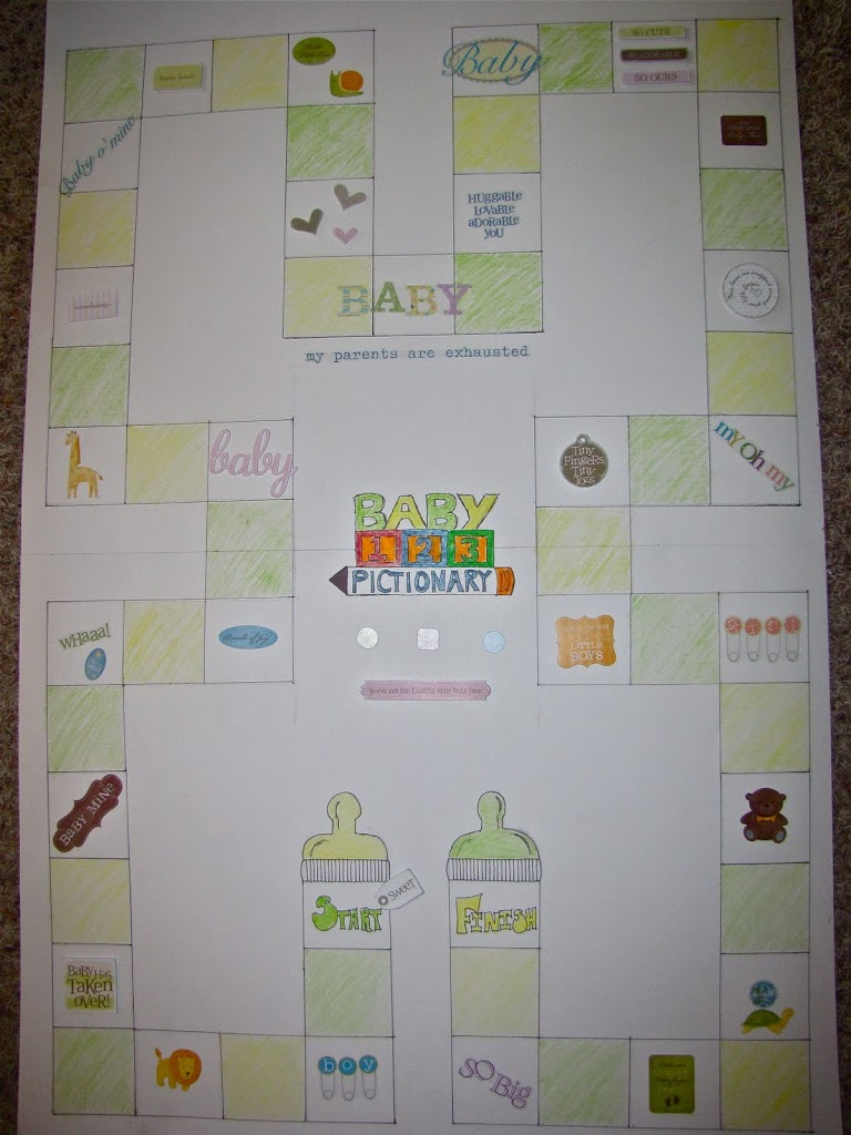 So welcome… the homemade Baby Pictionary board! Creativity truly can come from anywhere :)